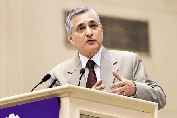 A file photo chief justice of India T.S. Thakur. Photo: Sushil Kumar/HT