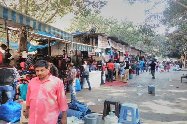 It is business as usual at Janpath market in New Delhi. Ramesh Pathania/Mint