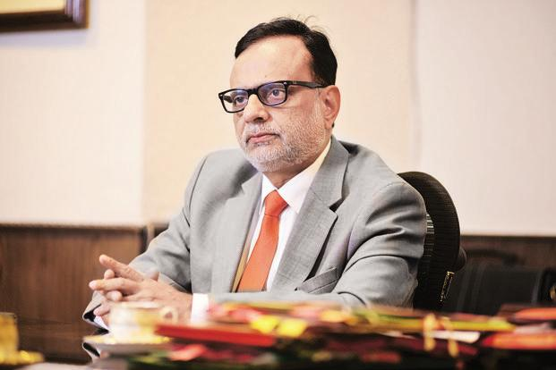Hamukh Adhia said bank deposits which have already been made from 10 November  will be covered under Pradhan Mantri Garib Kalyan Yojana. Photo: Pradeep Gaur/Mint