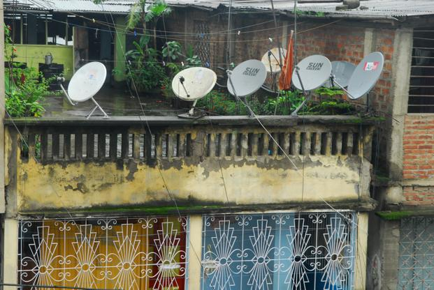 IBF secretary general Girish Srivastava said digitization initiative requires another Rs25,000- 30,000 crore of investment across broadcast centres, digital headends, DTH infrastructure, headend in the sky infrastructure, optical fibre network and teleports to be completed. Photo: Mint