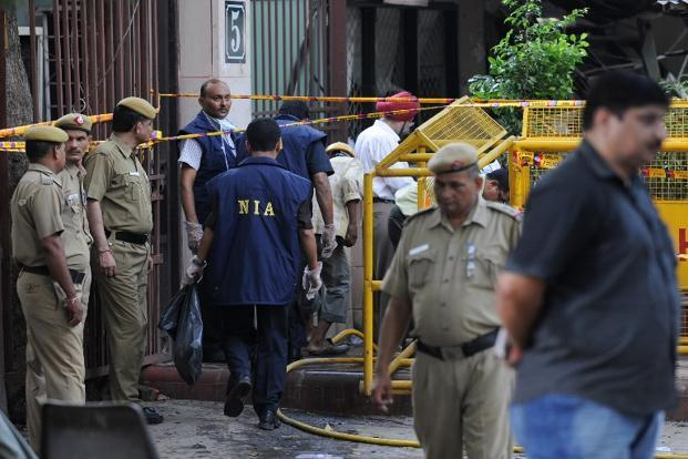 A file photo of National Investigation Agency. Photo: AFP