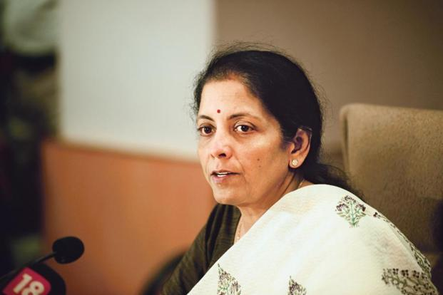 A file photo of commerce and industry minister Nirmala Sitharaman. The government is planning to unveil the budget for 2017-18 on 1 February instead of the general practice of presenting it on the last working day of February. Photo:Pradeep Gaur/ Mint