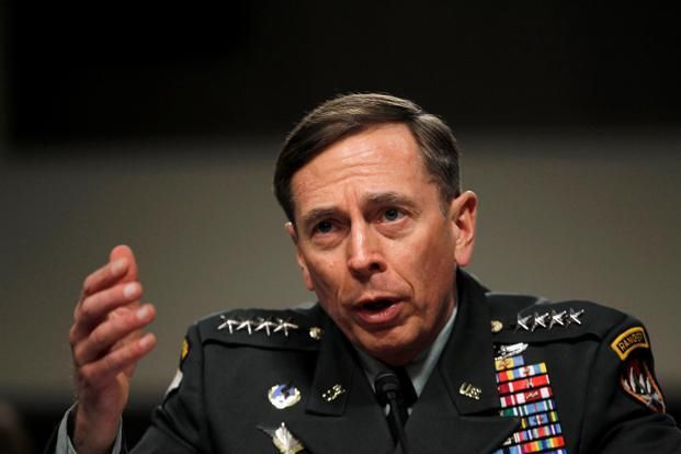 David Petraeus, who left government under a cloud for sharing classified documents, is meeting with the president-elect amid infighting among Donald Trump's advisers about who to pick for the post of secretary of state. Photo: Reuters