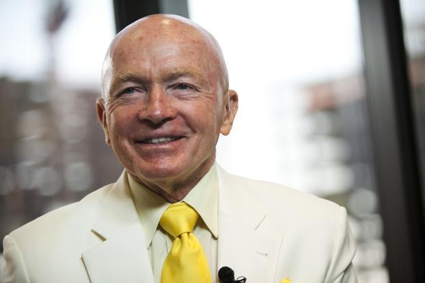 A file photo of Mark Mobius, executive chairman, Templeton Emerging Markets Group. Photo: Bloomberg