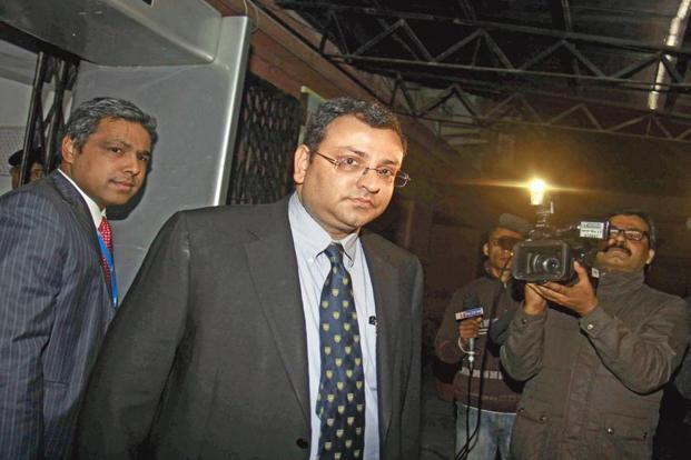 Cyrus Mistry was removed as Tata Sons chairman on 24 October.