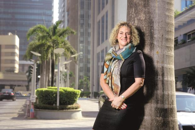 J. Walter Thompson global chief executive officer Tamara Ingram. Photo: Abhijit Bhatlekar/Mint