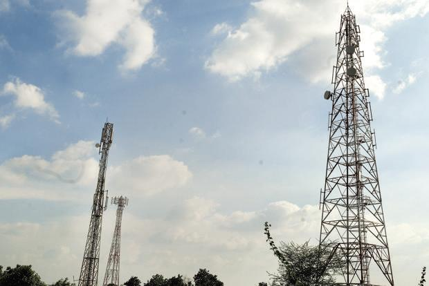 File photo. Indus towers currently has 121,330 towers across 15 circles in India. Photo: Mint