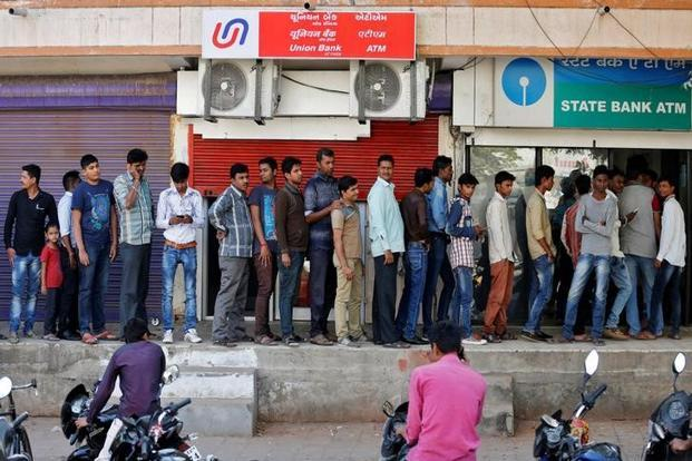 The Centre from 9 November scrapped high value Rs500 and Rs1,000 notes to crack down on black money, leading to unending queues at banks and ATMs across the country. Photo: Reuters