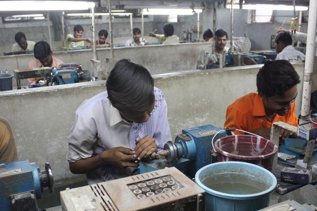 The diamond industry of Surat has seen business decline 25% since the demonetisation drive. Photo: Mint