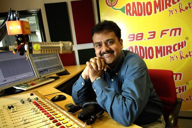 File photo of Prashant Panday, chief executive of ENIL, which owns Radio Mirchi. Panday says November advertising revenue may be 10-15% lower than usual on account of demonetisation. Photo: Abhijit Bhatlekar/Mint