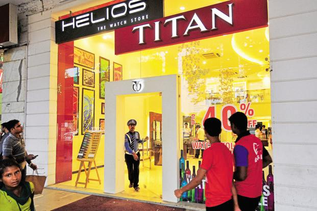 Titan will continue with its plans of new launches and advertising in the short term. Photo: Ramesh Pathania/Mint
