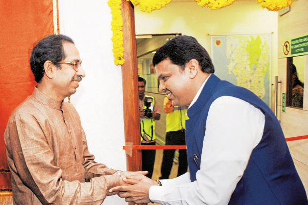Chief minister Devendra Fadnavis said he would talk to Shiv Sena executive president Uddhav Thackeray on the matter. Photo: PTI