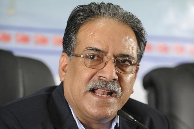A file photo of Nepal's PM Prachanda. Madhesi Front's refusal is a blow to the PM's efforts to achieve reconciliation with groups agitating over the new statute. Photo: AFP