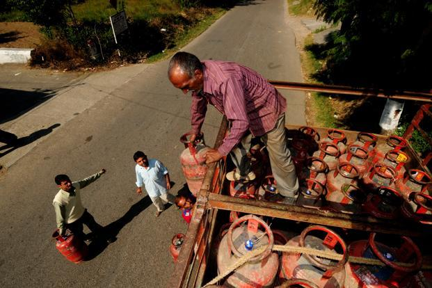 LPG rates were last hiked on 1 November by Rs2.05 per cylinder. Photo: Mint