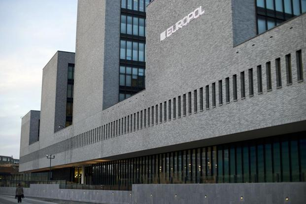 Europol did not say in which countries the five criminals were held. Photo: AP