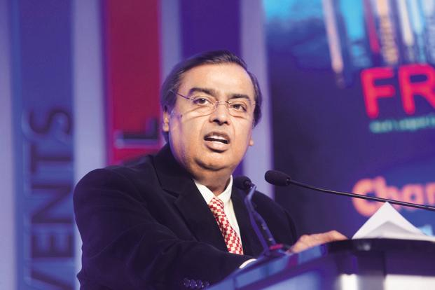 Mukesh Ambani says Reliance Jio would roll out Jio-Money Merchant Solutions, a mobile payments application, for enabling digital payments for small merchants. Photo: Abhijit Bhatlekar/Mint