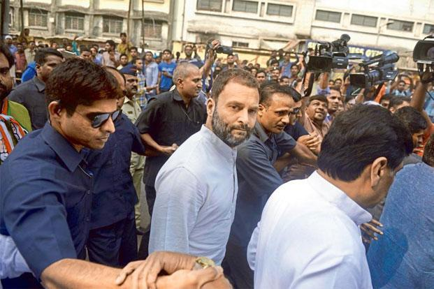 The Twitter account of Rahul Gandhi was hacked on Wednesday too and some messages with profanities were put out, but these were deleted soon after. Photo: Abhijit Bhatlekar/Mint