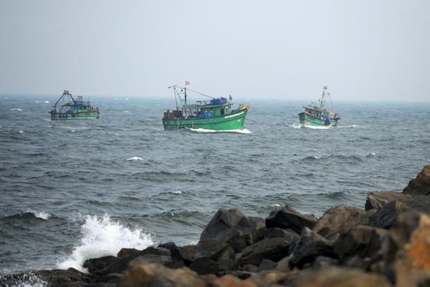 The meteorological department has also warned fishermen not to venture out in the sea. Photo: AFP
