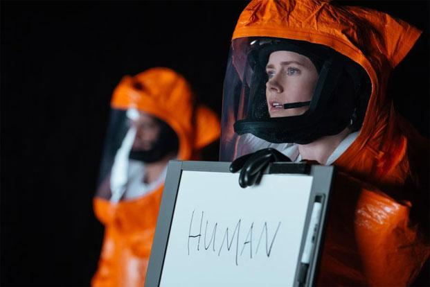 Amy Adams in a still from 'Arrival'