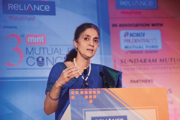 NSE CEO Chitra Ramkrishna decision to quit comes almost a year before her tenure comes to an end in 2018. Photo: Abhijit Bhatlekar/Mint