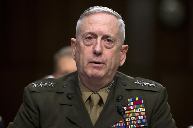 James  Mattis has been in sync with Trump on Iran, calling Obama's deal to curb its nuclear program 'an arms control agreement that fell short' and labelling the regime in Tehran 'the single most enduring threat to stability and peace in the Middle East'. Photo: AP