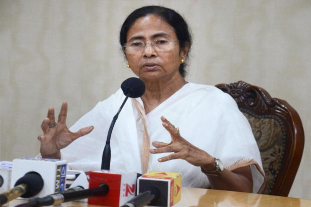 A file photo of West Bengal chief minister Mamata Banerjee. HT