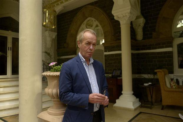 Martin Amis in Mumbai. Photo: Abhijit Bhatlekar/Mint
