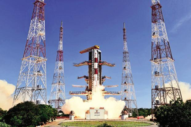 The 44.4 metre tall PSLV C36 is expected to place the 1,235 kg RESOURCESAT-2A into an 827km polar Sun Synchronous Orbit in about 18 minutes after lift off.