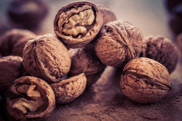 Nuts are rich in fibre and protein. Photo: iStock
