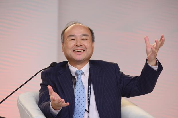 Masayoshi Son, founder and chief executive of SoftBank Group. Photo: Ramesh Pathania/Mint