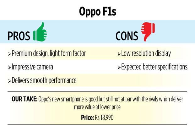Review: The Oppo F1s upgrade is still far from perfect - Livemint