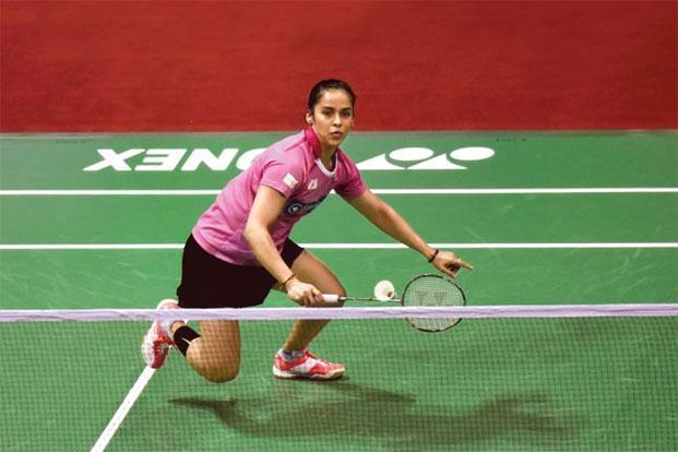 Saina Nehwal at the India Open 2016 in New Delhi in March. Photo: Mohd Zakir/Hindustan Times