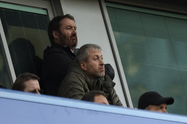 Chelsea's present owner Roman Abramovich sanctioned a £50,000 payout to one of the players Gary Johnson in 2015 provided he didn't go public about it. Photo: Reuters