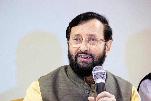 HRD minister Prakash Javadekar. Photo: HT