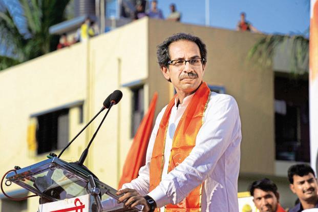 Shiv Sena chief Uddhav Thackeray. Photo: Abhijit Bhatlekar/ Mint