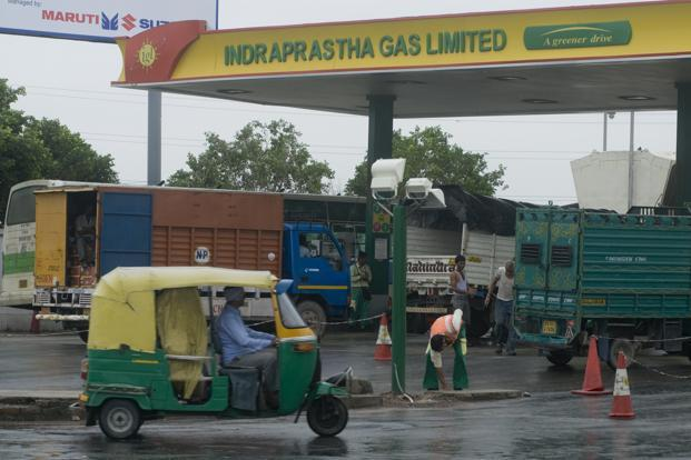 At Indraprastha Gas, net profit rose 44% and 42%, respectively, for the June and September quarters despite flat revenue on a year-on-year basis on a strong improvement in operating profit margin, a jump in other income and a far slower rate of increase in depreciation costs. Photo: