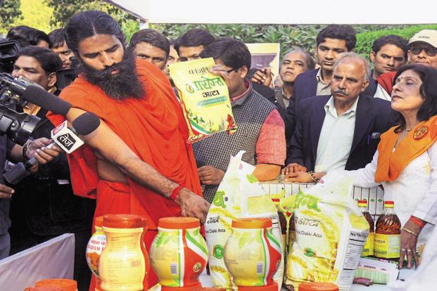 Patanjali products were found to be in violation of sections 52-53 of Food Security norms and section 23.1 (5) of Food safety and Standard (packaging and labelling) regulation. Photo: HT