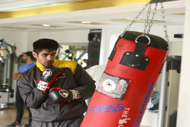 Vijender Singh was almost 30 when he turned pro.