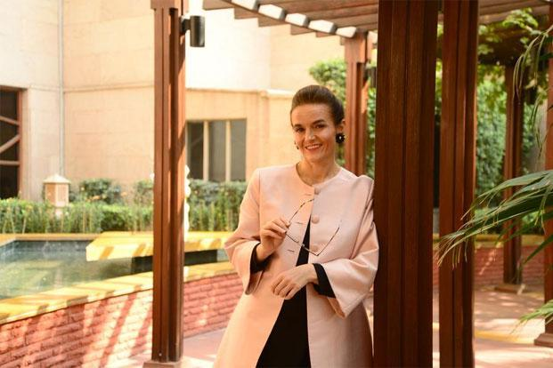 Safilo Group SpA CEO Luisa Delgado. Photo: Ramesh Pathania/Mint