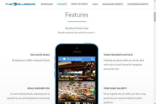 BlueBook claims it has over 100,000 users and tie-ups with over 1,200 merchants.