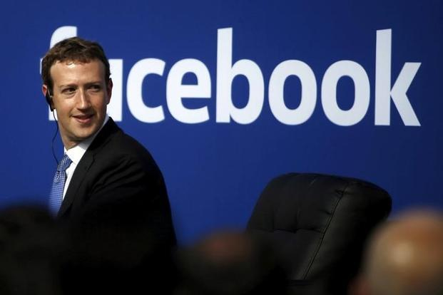 Facebook CEO Mark Zuckerberg predicts that in about 5-10 years, AI systems will be more accurate than people for each of the senses—vision, hearing and touch, as well as language. Photo: Reuters