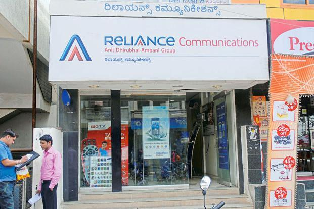 RCom's market capitalization has risen by around Rs200 crore since the deal was announced. Photo: Hemant Mishra/Mint