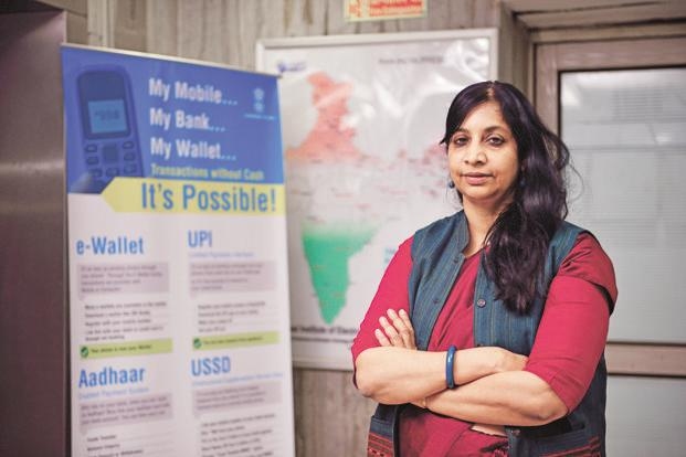 Aruna Sundararajan, secretary in the ministry of electronics and information technology. Photo: Pradeep Gaur/Mint