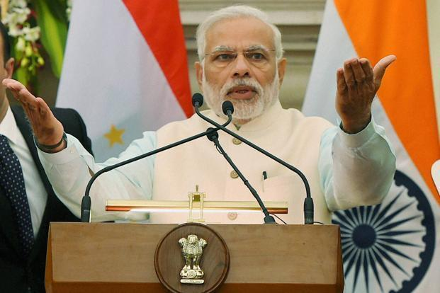 According to the Narendra Modi, the flip flops in the guidelines for demonetisation were based on realtime feedback from the public. Photo: PTI