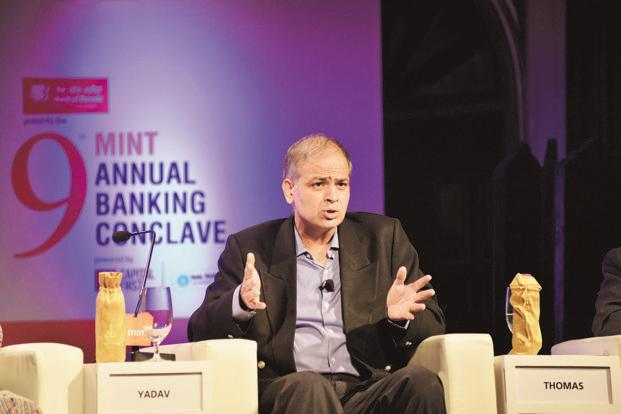 Disha Microfin group CEO Rajiv Yadav. Disha was one of the 10 institutions that received in-principle approval in 2015 to start a small finance bank. Photo: Aniruddha Chowdhury/Mint