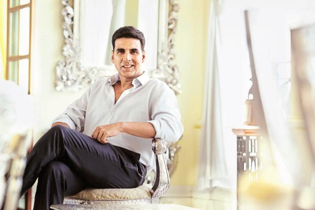 A file photo of Bollywood actor Akshay Kumar. Photo: Hindustan Times