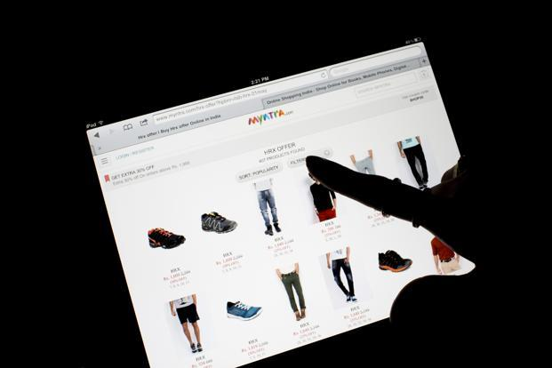 Myntra subsequently re-launched its desktop site on 1 June this year after re-opening its mobile site in February. Photo: Bloomberg