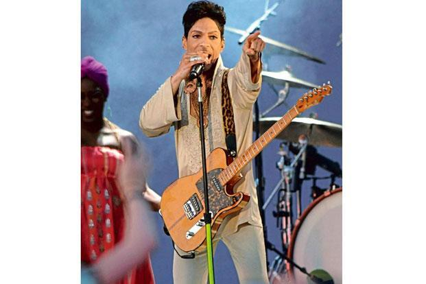 Prince at the Hop Farm Festival in England, 2011. Photo: Stuart Wilson/Getty Images