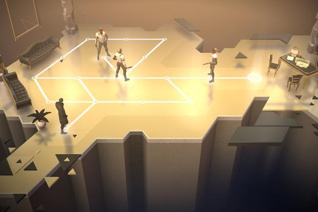 Deus Ex Go is a turn-based puzzle game inspired by the game of chess.