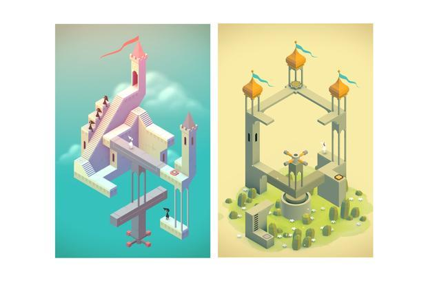 Monument Valley is set in a mystical world where the gamer has to guide the game's protagonist.